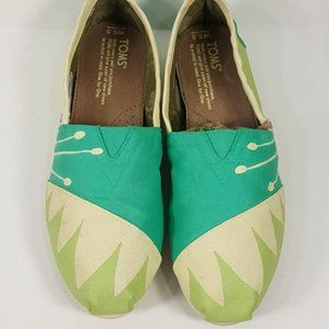Toms Disney Tiana Etsy Custom Painted Shoes